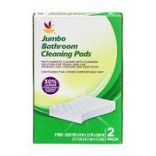 SB Jumbo Bathroom Cleaning Pads - 2 CT
