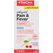 TopCare Infants' Cherry Flavor Pain Reliever Liquid