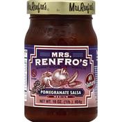 Mrs. Renfro's Salsa, Pomegranate, Medium