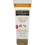 Gold Bond Skin Therapy Cream, Softening, Ultimate