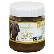 Endangered Species Hazelnut Spread, Natural, with Cocoa