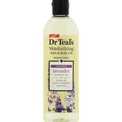 Dr. Teal's Bath & Body Oil, Moisturizing, Lavender