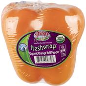 Organic Orange Bell Pepper