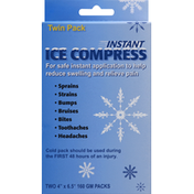 All Temp Compress, Ice, Instant, Twin Pack