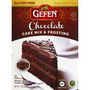 Gefen Cake Mix & Frosting, Gluten Free, Chocolate