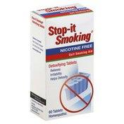 NatraBio Quit Smoking Aid, Detoxifying Tablets