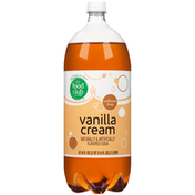 Food Club Vanilla Cream Flavored Caffeine Free Soda