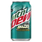 Mtn Dew Soda, Tropical Lime Natural and Artificial Flavors