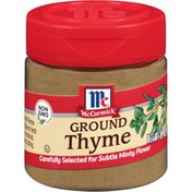 McCormick® Ground Thyme