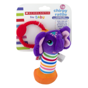 Scholastic Chirpy Rattle, 1-18 Months