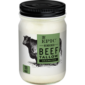 Epic Beef Tallow, Grass-Fed, Keto Friendly, Whole30