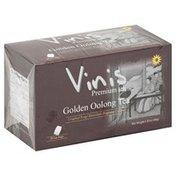 Vinis Oolong Tea, Golden, Bags