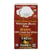 Handsome Brook Farm Organic 100% Liquid Egg Whites