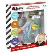 Sassy Rattles, Developmental