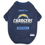 P.Pf Large Los Angeles Chargers Tee Shirt