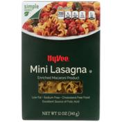 Hy-Vee Lasagna, Mini