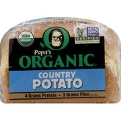 Papas Organic Bread, Country Potato