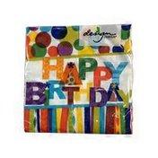Design Design Happy Birthday Hooray Beverage Napkins