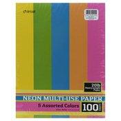 Top Flight Paper, Heavyweight, Neon, Multi- Use
