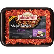 Johnsonville Recipe Starters Cajun Seasoned Ground Sausage