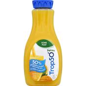 Tropicana Juice Beverage, Orange, Some Pulp