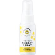 Beekeeper's Naturals Throat Spray, Propolis