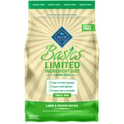 Blue Buffalo Basics Limited Ingredient Diet, Grain Free Natural Adult Dry Dog Food, Lamb & Potato