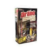 Drano Snake Plus Drain Tool + Gel Cleaning Kit