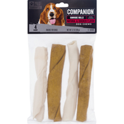 Companion Rawhide Twists Chicken Basted Flavor