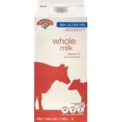 Hannaford Lactose Free Whole Milk