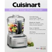 Cuisinart Chopper/Grinder, 4-Cup