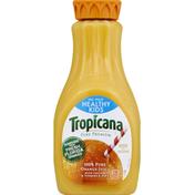 Tropicana 100% Juice, Orange, Healthy Kids, No Pulp