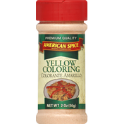 American Spice Trading Company Yellow Coloring