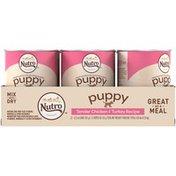NUTRO Puppy Bites in Gravy Tender Chicken & Turkey Recipe Dog Food