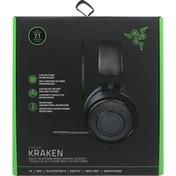 Razer Gaming Headset, Kraken, Black
