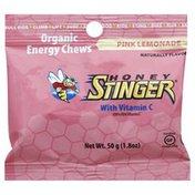 Honey Stinger Energy Chews, Organic, Pink Lemonade