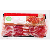 Simple Truth Bacon, Hardwood Smoked, Uncured