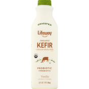 Lifeway Kefir, Organic, Vanilla