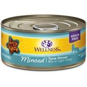 Wellness Minced Tuna Dinner Canned Cat Food