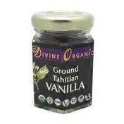 Divine Organics Ground Tahitian Vanilla Powder