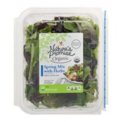 Nature's Promise Organic Spring Mix With Herbs