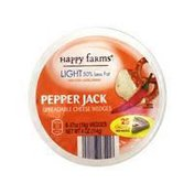 Happy Farms Light Jalapeno Spreadable Cheese Wedges