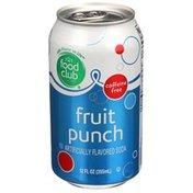 Food Club Caffeine Free Fruit Punch Soda