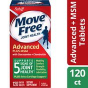 Movefree® Advanced Plus MSM - Glucosamine & Chondroitin Plus MSM Advanced Joint Health Supplement