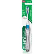 GUM Toothbrush, Travel, Soft