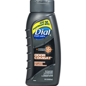 Dial Body Wash, Deodorizing, For Men, Charcoal Carbon