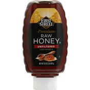 First Street Honey, Raw, Premium, Unfiltered