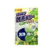 ST Blue Enzyme Power Green Apple Fragrance Toilet Cleaning & Whitening Tablet