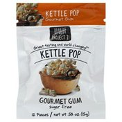 Project 7 Gum, Gourmet, Sugar Free, Kettle Pop