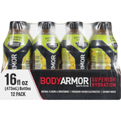 BODYARMOR Sports Drink, Pineapple Coconut, Superior Hydration, 12 Pack